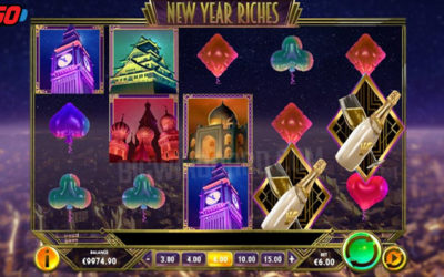 New Year Riches Online Slot By Play'n GO