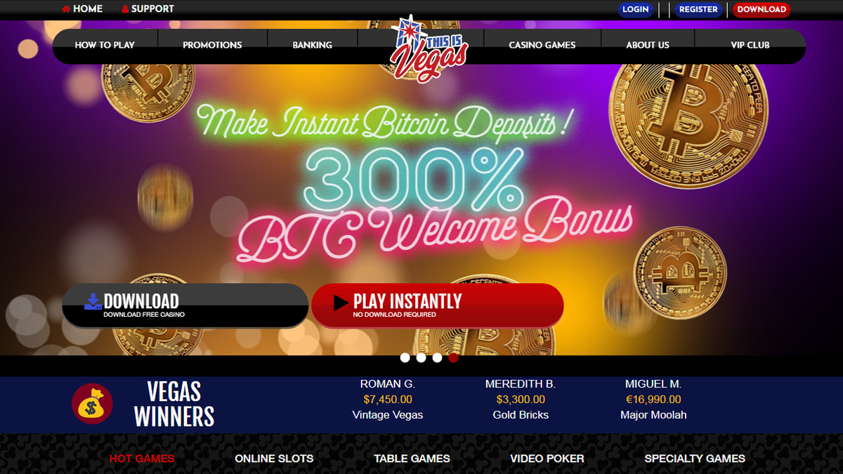 This Is Vegas Homepage