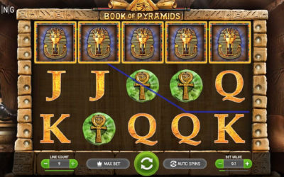 Book of Pyramids Online Slot By BGaming
