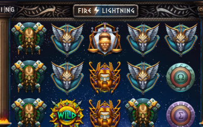 Fire Lightning Online Slot By BGaming