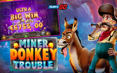 Miner Donkey Trouble Online Slot By Play'n GO