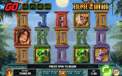 Cat Wilde In The Eclipse Of The Sun God Online Slot By Play'n GO