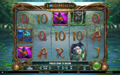 Lord Merlin And The Lady Of The Lake Online Slot By Play'n GO