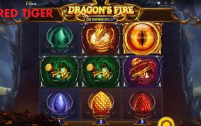 Dragon's Fire: Infinireels Online Slot By Red Tiger Gaming