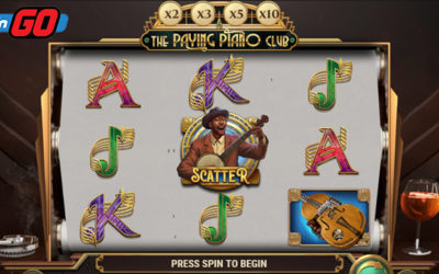 The Paying Piano Club Online Slot By Play'n GO