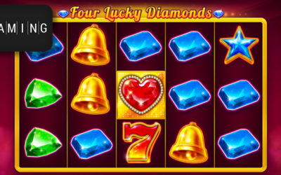 Four Lucky Diamonds Online Slot By BGaming