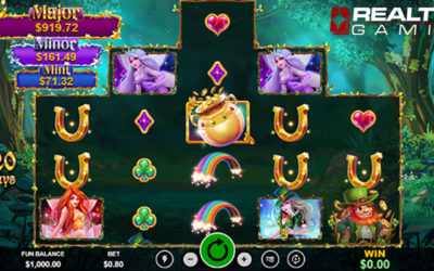 Paddy's Lucky Forest Online Slot By RealTime Gaming