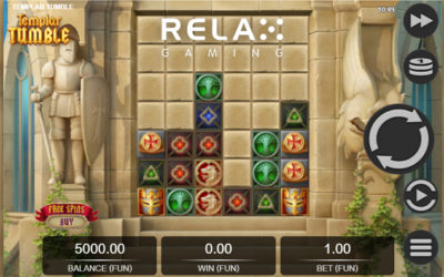 Templar Tumble Online Slot By Relax Gaming