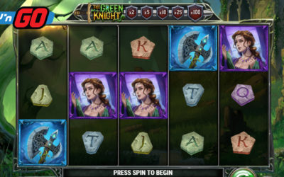 The Green Knight Online Slot By Play'n GO