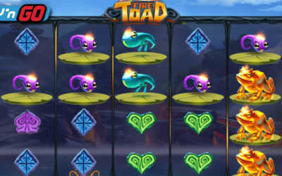 Fire Toad Online Slot By Play'n GO