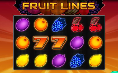 Fruit Lines Online Slot By Oryx Gaming