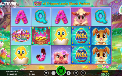 Spring Wilds Online Slot By Realtime Gaming