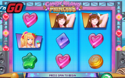 Candy Island Princess Online Slot By Play'n GO