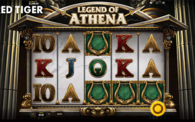 Legend Of Athena Online Slot By Red Tiger Gaming