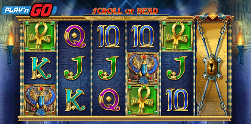 Scroll Of Dead Online Slot By Play'n GO