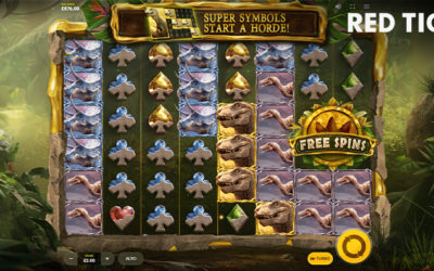 Reptizillions Power Reels Online Slot By Red Tiger Gaming