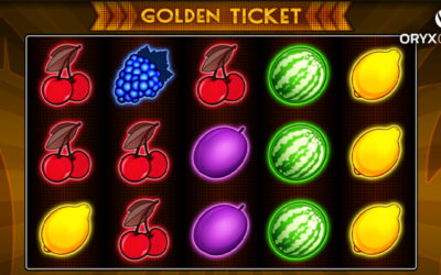 Golden Ticket Online Slot By Oryx Gaming
