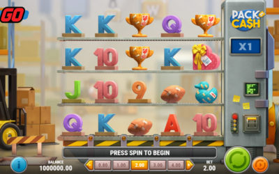Pack & Cash Online Slot By Play'n GO