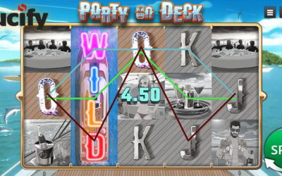 Party On Deck Online Slot By Saucify