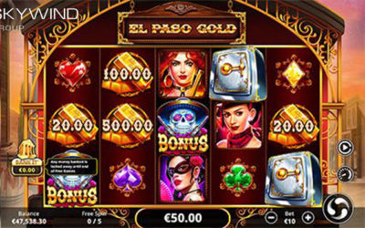 El Paso Gold Online Slot By Skywind Group