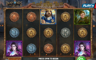 Diamonds Of The Realm Online Slot By Play'n GO