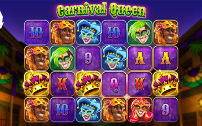 Carnival Queen Online Slot By Thunderkick