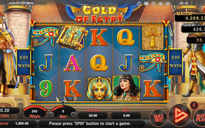 Gold Of Egypt Online Slot By SimplePlay