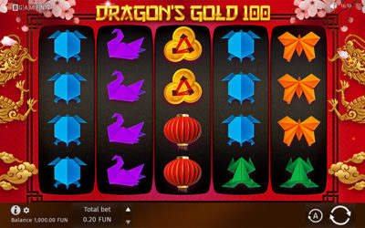 Dragon's Gold 100 Online Slot By BGAMING