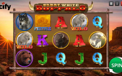 Great White Buffalo – Online Slot By Saucify