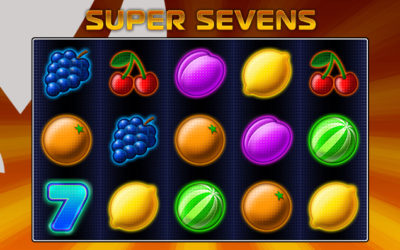 Super Sevens Online Slot By Oryx Gaming