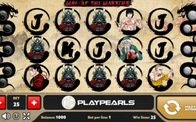 Way Of The Warrior Online Slot By PlayPearls