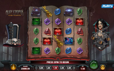 Alice Cooper And The Tome Of Madness – Online Slot By Play'n GO