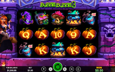 Bubble Bubble 3 – Online Slot By RealTime Gaming