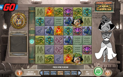 Charlie Chance And The Curse Of Cleopatra – Online Slot By Play'n GO