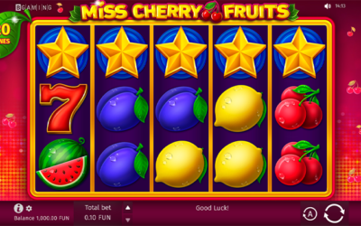 Miss Cherry Fruits – Online Slot By BGaming