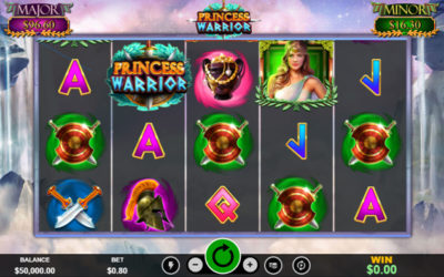 Princess Warrior – Online Slot By Realtime Gaming